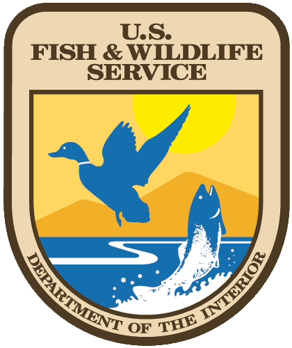 Department of the Interior - U.S. Fish and Wildlife Service logo