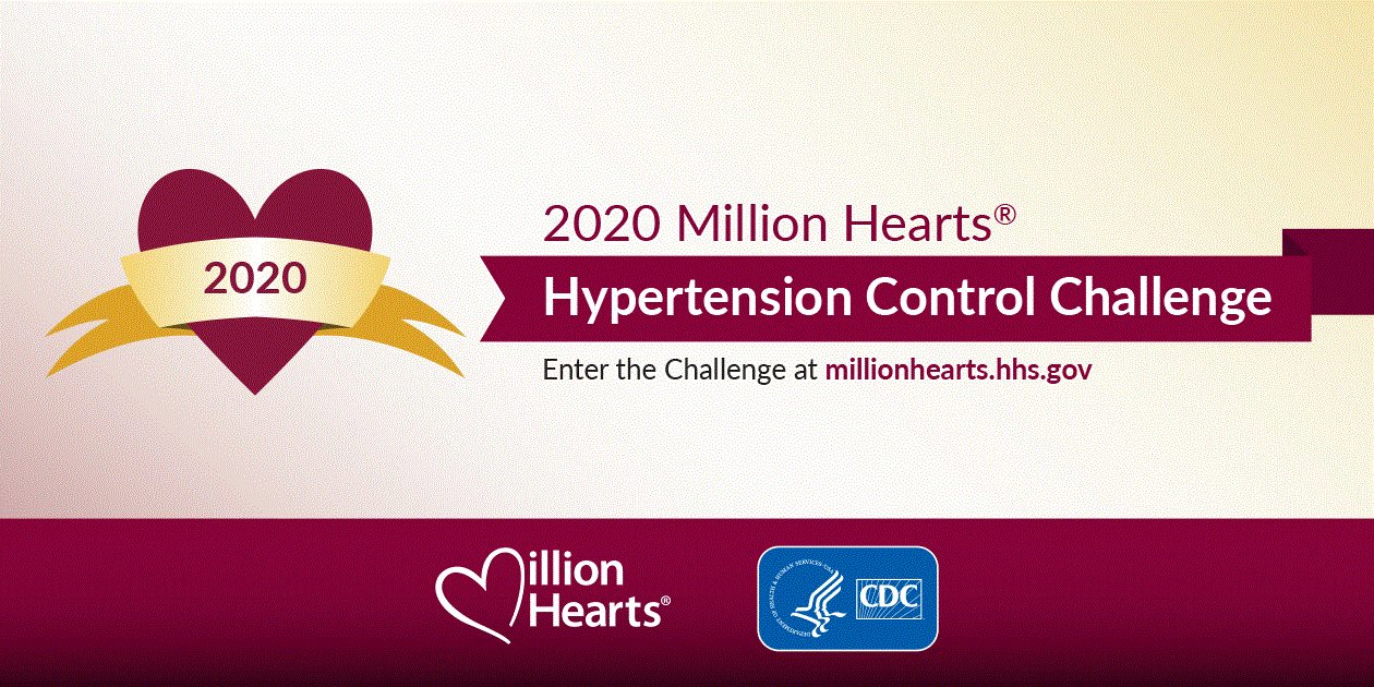 2020 Million Hearts Hypertension Control Challenge logo